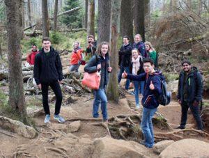 Mit einer so tollen Gruppe macht jedes Abenteuer Spaß!