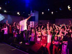 Hip-Hop-Konzert mit den O'Bros