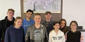 Welcomeparty für unsere Teens